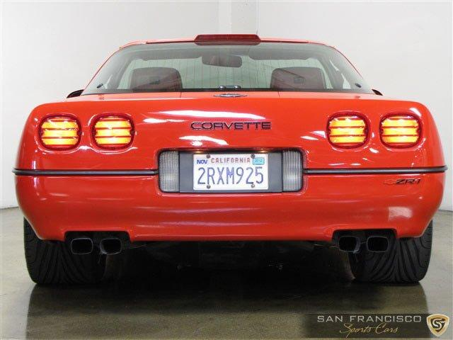 Used 1990 Chevy Corvette ZR1 for sale Sold at San Francisco Sports Cars in San Carlos CA 94070 4