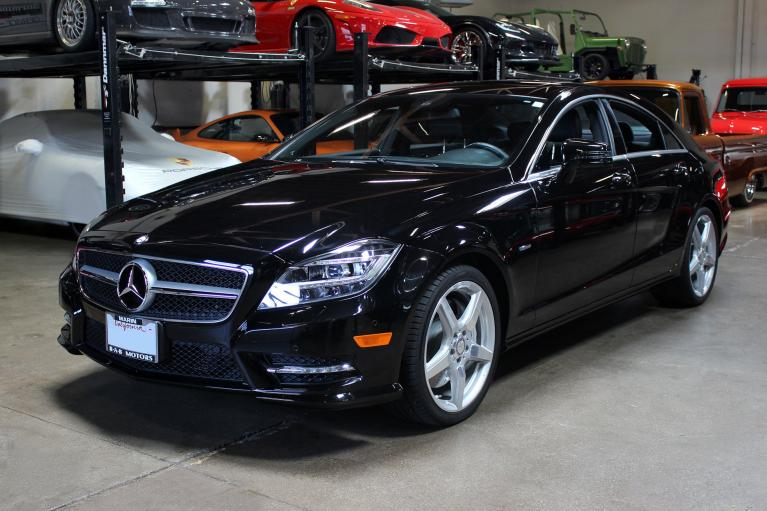 Used 2012 Mercedes-Benz CLS 550 for sale Sold at San Francisco Sports Cars in San Carlos CA 94070 3