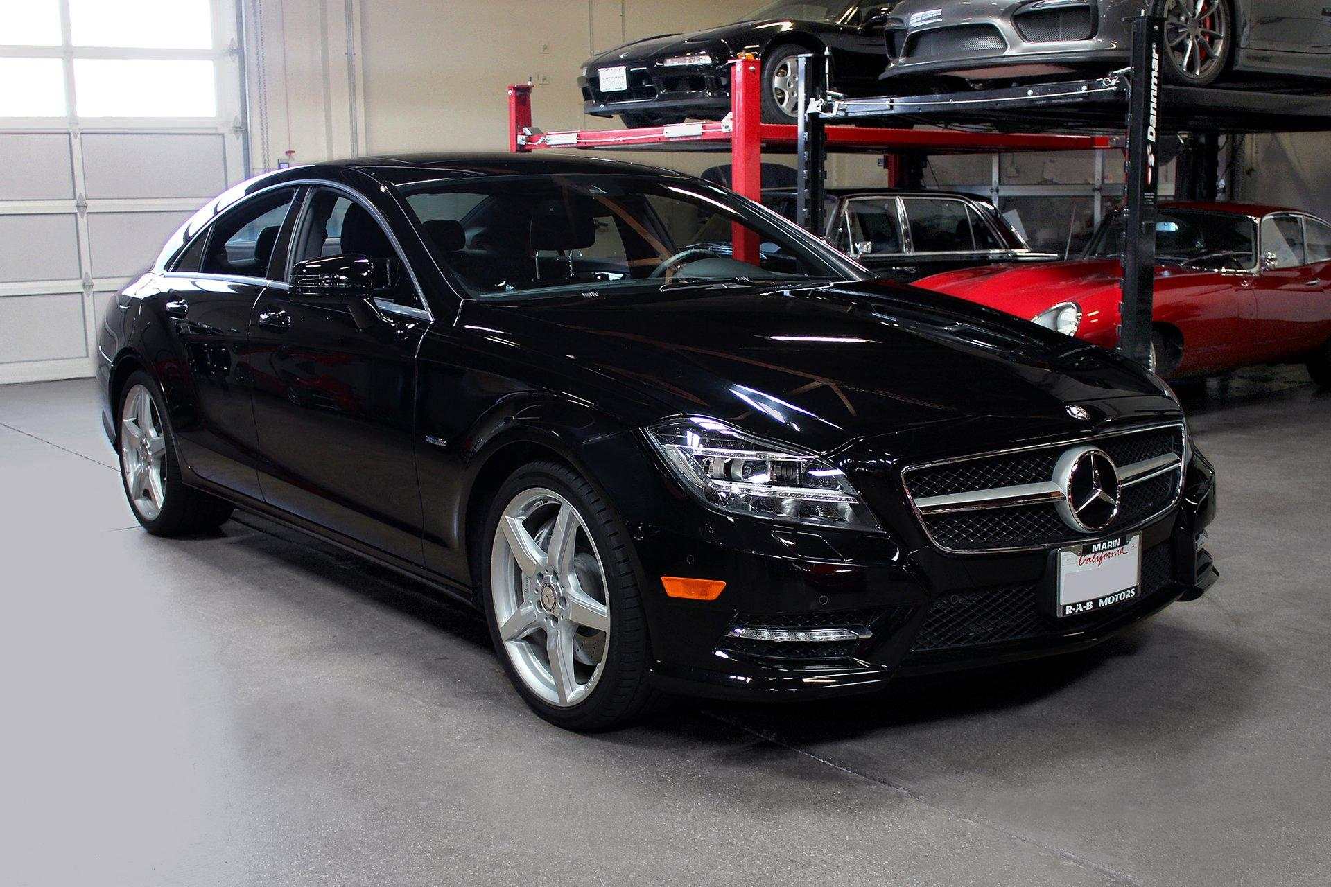 Used 2012 Mercedes-Benz CLS 550 for sale Sold at San Francisco Sports Cars in San Carlos CA 94070 1