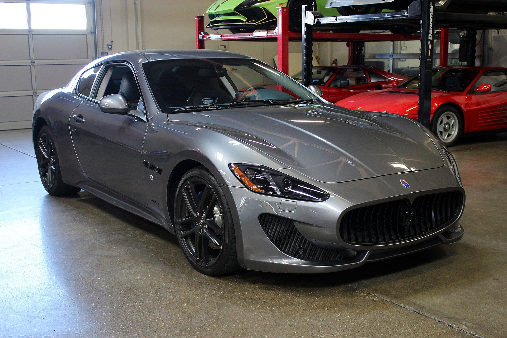 Used 2015 Maserati GranTurismo for sale Sold at San Francisco Sports Cars in San Carlos CA 94070 1