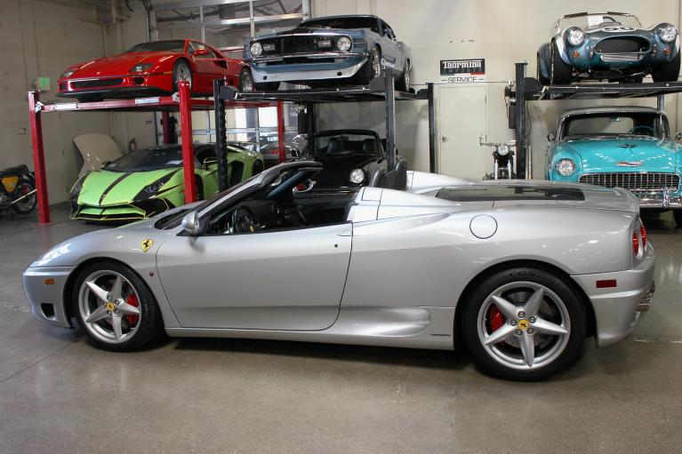 Used 2002 Ferrari 360 Spider for sale Sold at San Francisco Sports Cars in San Carlos CA 94070 4