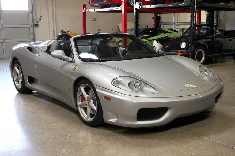 Used 2002 Ferrari 360 Spider for sale Sold at San Francisco Sports Cars in San Carlos CA 94070 1
