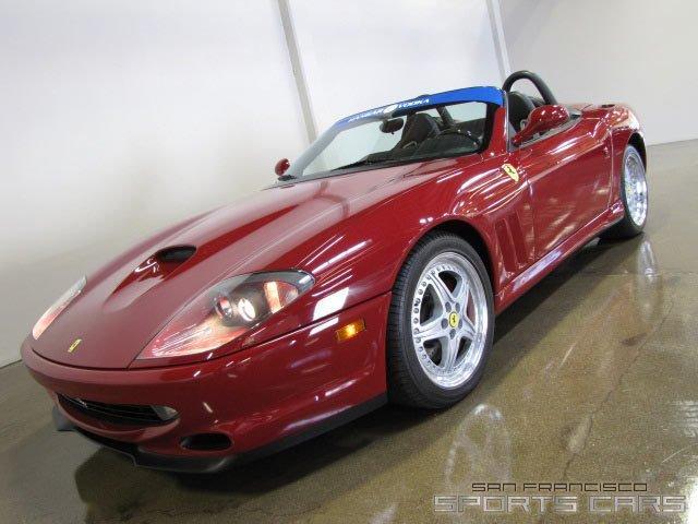Used 2001 Ferrari 550 Barchetta for sale Sold at San Francisco Sports Cars in San Carlos CA 94070 2