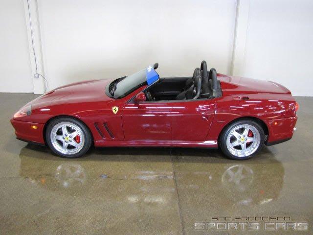 Used 2001 Ferrari 550 Barchetta for sale Sold at San Francisco Sports Cars in San Carlos CA 94070 3