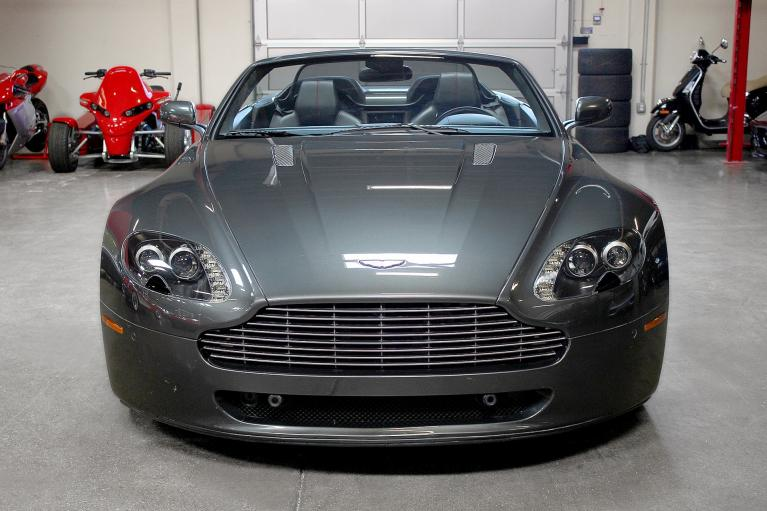 Used 2009 Aston Martin V8 VANTAGE convertible for sale Sold at San Francisco Sports Cars in San Carlos CA 94070 2
