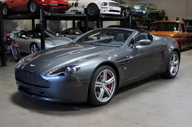 Used 2009 Aston Martin V8 VANTAGE convertible for sale Sold at San Francisco Sports Cars in San Carlos CA 94070 3