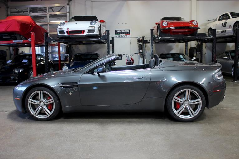 Used 2009 Aston Martin V8 VANTAGE convertible for sale Sold at San Francisco Sports Cars in San Carlos CA 94070 4