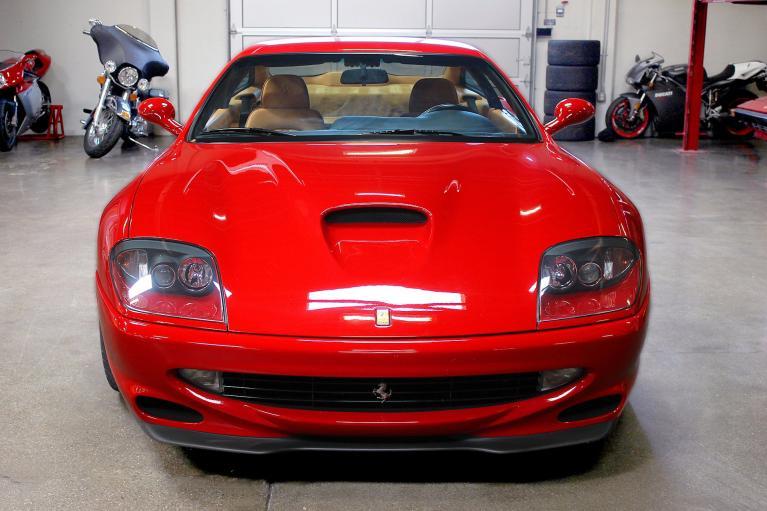 Used 2001 Ferrari 550 Maranello for sale Sold at San Francisco Sports Cars in San Carlos CA 94070 2