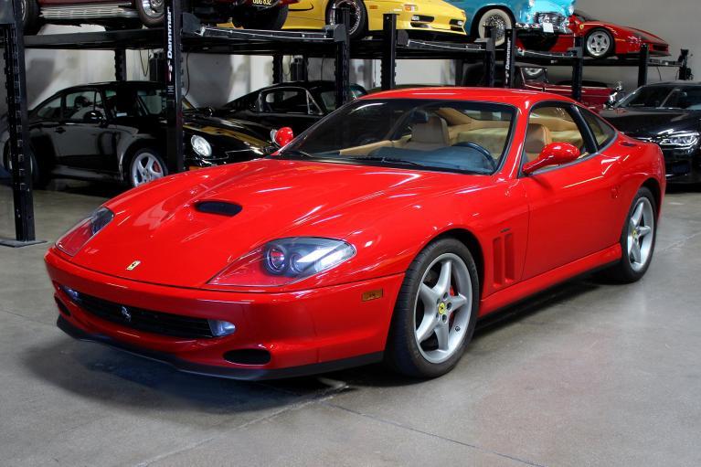 Used 2001 Ferrari 550 Maranello for sale Sold at San Francisco Sports Cars in San Carlos CA 94070 3