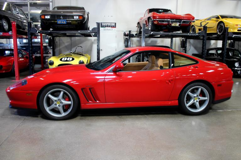 Used 2001 Ferrari 550 Maranello for sale Sold at San Francisco Sports Cars in San Carlos CA 94070 4