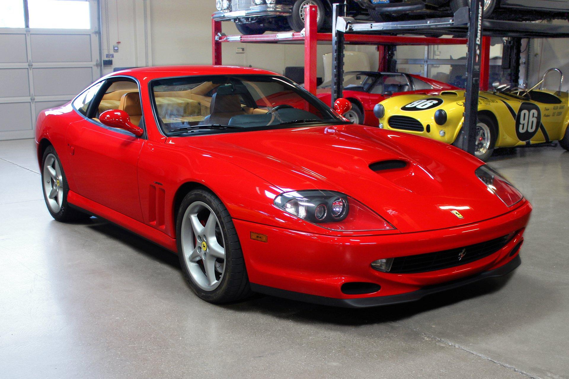 Used 2001 Ferrari 550 Maranello for sale Sold at San Francisco Sports Cars in San Carlos CA 94070 1