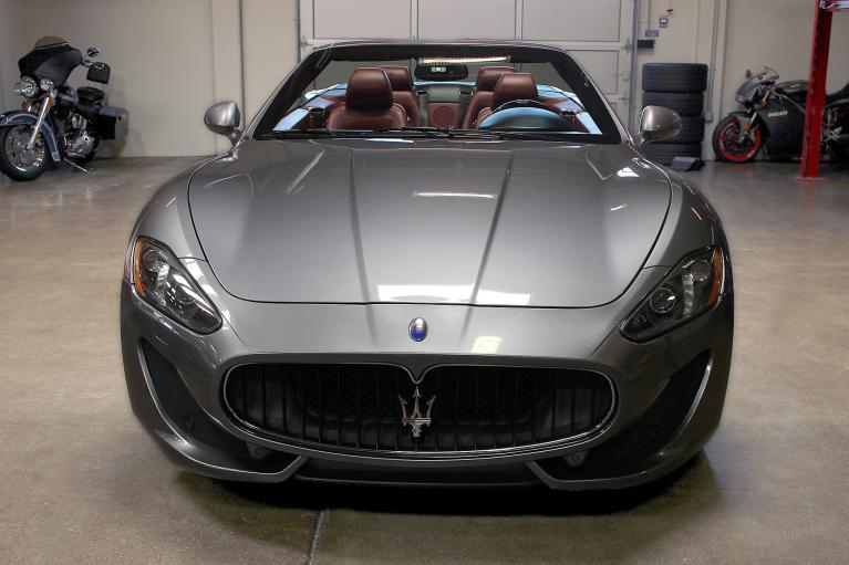 Used 2013 Maserati GranTurismo Convertible for sale Sold at San Francisco Sports Cars in San Carlos CA 94070 2
