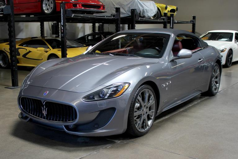 Used 2013 Maserati GranTurismo Convertible for sale Sold at San Francisco Sports Cars in San Carlos CA 94070 3