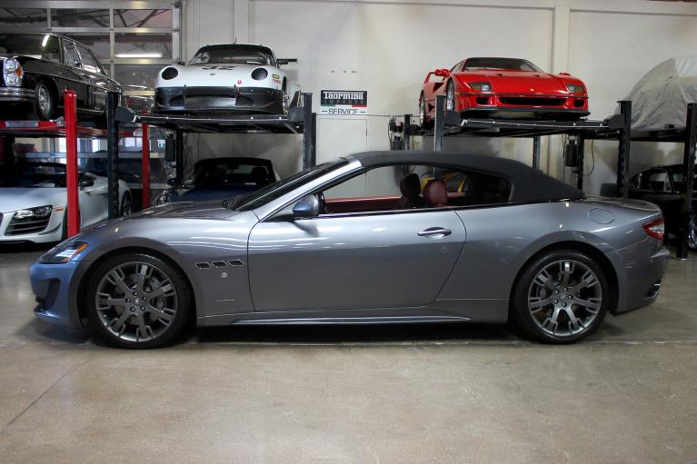 Used 2013 Maserati GranTurismo Convertible for sale Sold at San Francisco Sports Cars in San Carlos CA 94070 4