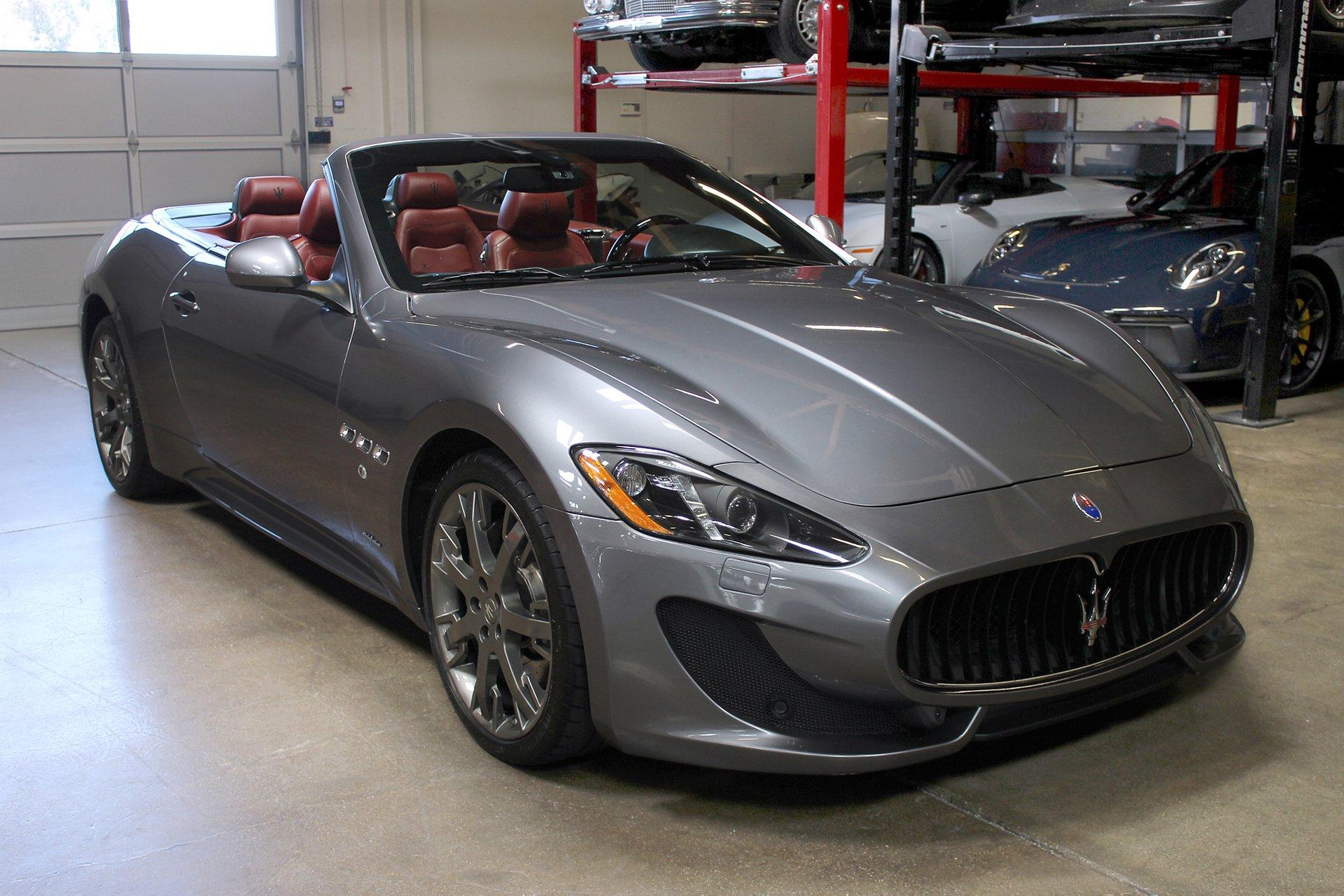 Used 2013 Maserati GranTurismo Convertible for sale Sold at San Francisco Sports Cars in San Carlos CA 94070 1