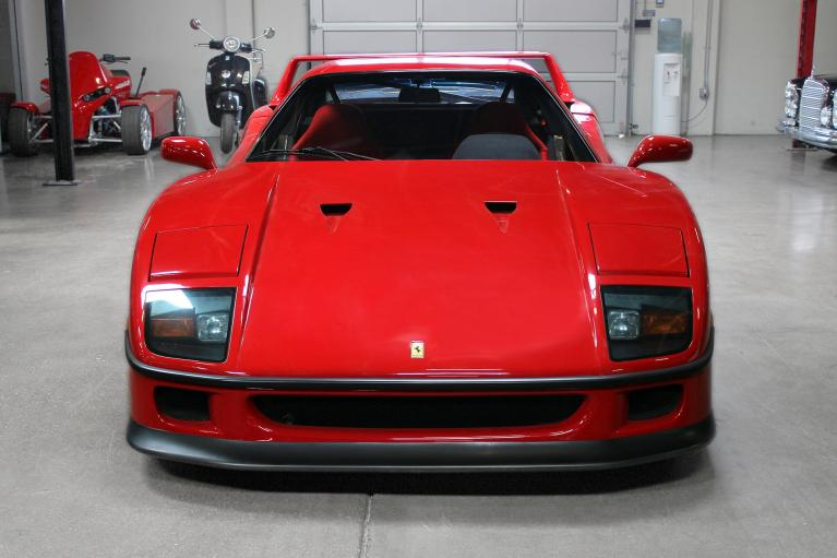 Used 1990 Ferrari F40 for sale Sold at San Francisco Sports Cars in San Carlos CA 94070 2