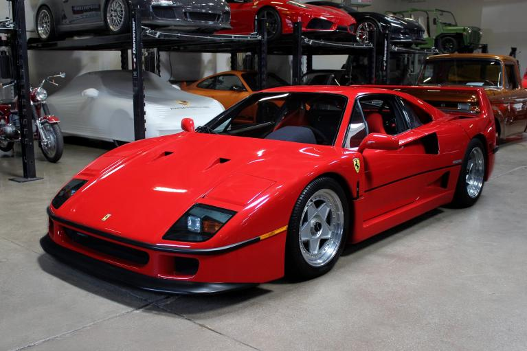 Used 1990 Ferrari F40 for sale Sold at San Francisco Sports Cars in San Carlos CA 94070 3