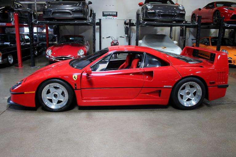 Used 1990 Ferrari F40 for sale Sold at San Francisco Sports Cars in San Carlos CA 94070 4