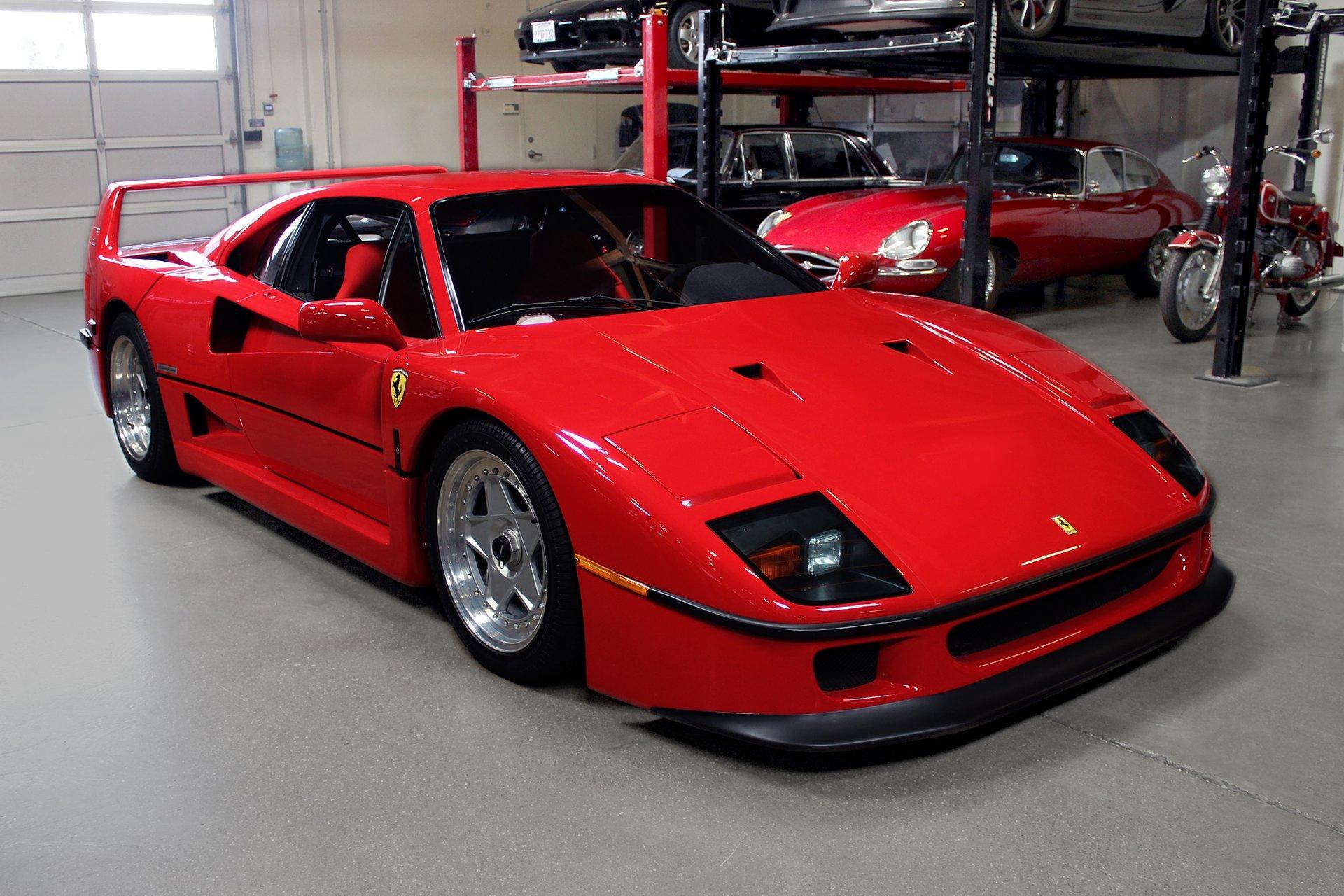 Used 1990 Ferrari F40 for sale $1,425,995 at San Francisco Sports Cars in San Carlos CA 94070 1