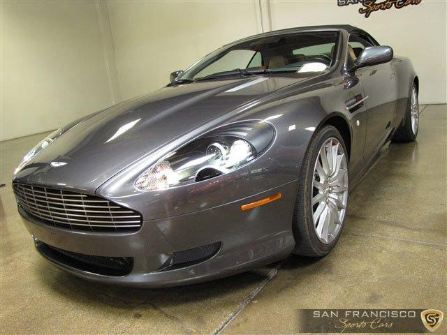 Used 2006 Aston Martin DB9 Convertible for sale Sold at San Francisco Sports Cars in San Carlos CA 94070 2
