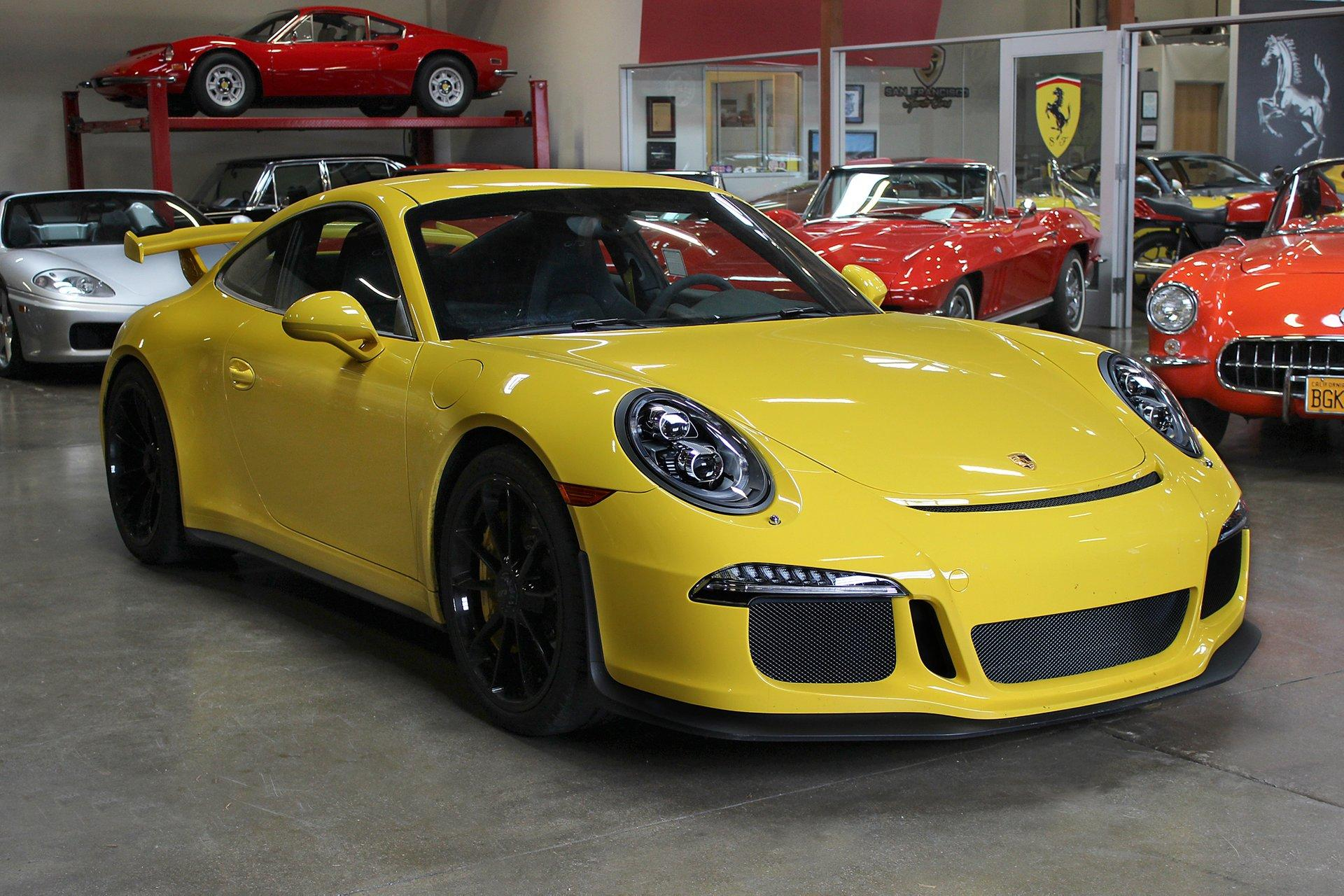 Used 2014 Porsche GT3 for sale Sold at San Francisco Sports Cars in San Carlos CA 94070 1