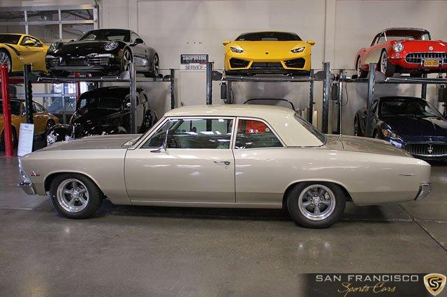 Used 1966 Chevrolet Chevelle 300 Deluxe for sale Sold at San Francisco Sports Cars in San Carlos CA 94070 3