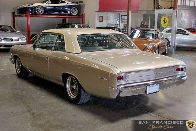 Used 1966 Chevrolet Chevelle 300 Deluxe for sale Sold at San Francisco Sports Cars in San Carlos CA 94070 4