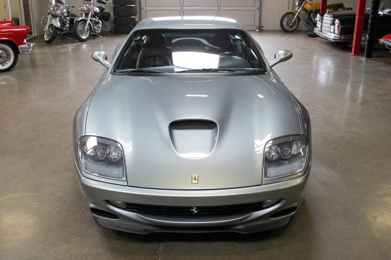 Used 1998 Ferrari 550 Maranello for sale Sold at San Francisco Sports Cars in San Carlos CA 94070 2