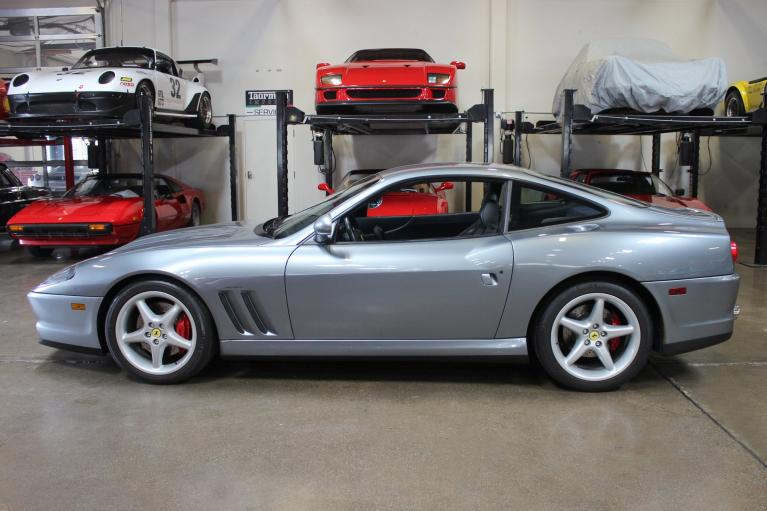 Used 1998 Ferrari 550 Maranello for sale Sold at San Francisco Sports Cars in San Carlos CA 94070 4