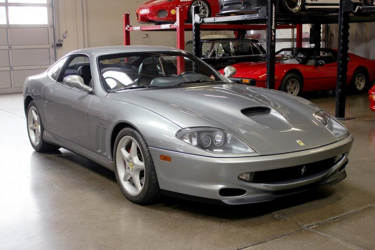 Used 1998 Ferrari 550 Maranello for sale Sold at San Francisco Sports Cars in San Carlos CA 94070 1