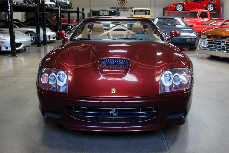 Used 2005 Ferrari Superamerica for sale Sold at San Francisco Sports Cars in San Carlos CA 94070 2