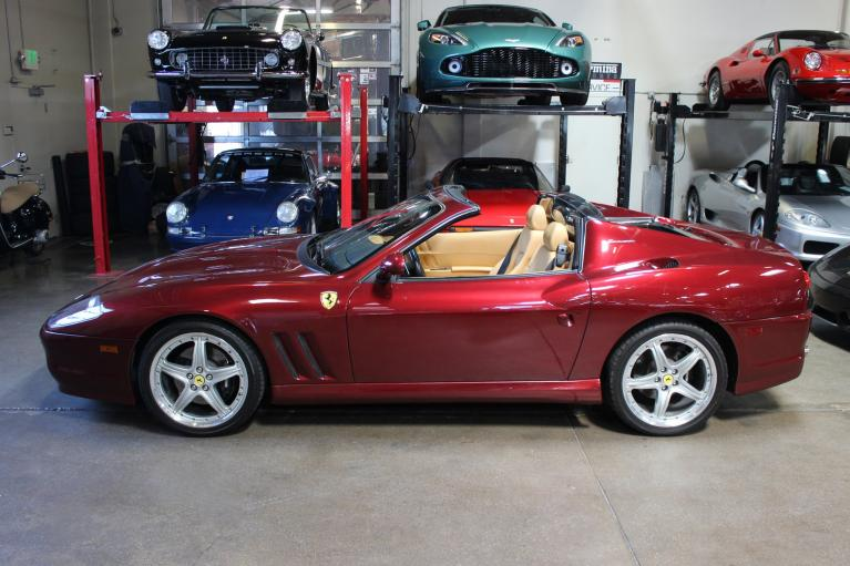 Used 2005 Ferrari Superamerica for sale Sold at San Francisco Sports Cars in San Carlos CA 94070 4