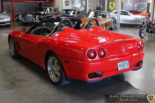 Used 2001 Ferrari 550 Barchetta for sale Sold at San Francisco Sports Cars in San Carlos CA 94070 4