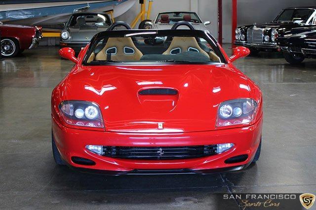 Used 2001 Ferrari 550 Barchetta for sale Sold at San Francisco Sports Cars in San Carlos CA 94070 1