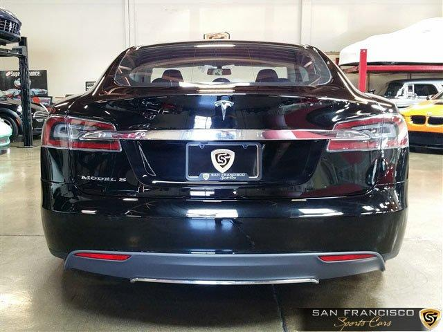 Used 2013 Tesla Model S P85 for sale Sold at San Francisco Sports Cars in San Carlos CA 94070 4