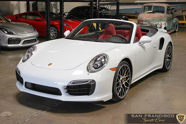Used 2015 Porsche 911 Turbo S Cabriolet for sale Sold at San Francisco Sports Cars in San Carlos CA 94070 2