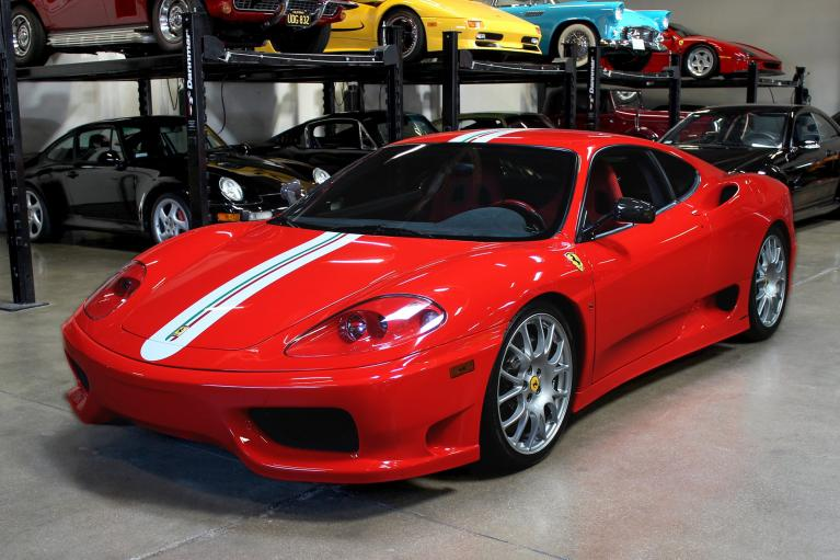 Used 2004 Ferrari 360 Challenge Stradale for sale Sold at San Francisco Sports Cars in San Carlos CA 94070 3