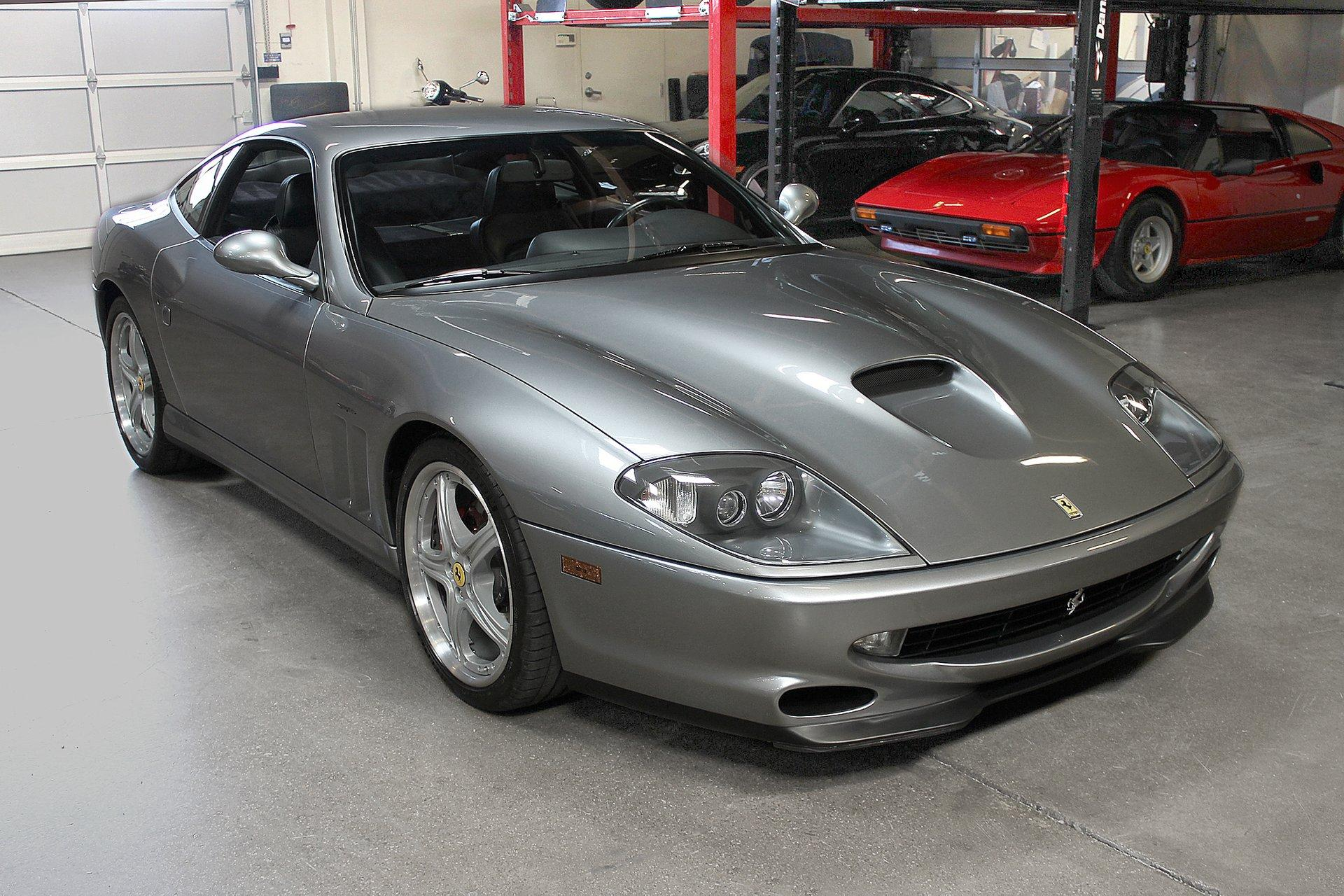 Used 2000 Ferrari 550 Maranello for sale Sold at San Francisco Sports Cars in San Carlos CA 94070 1