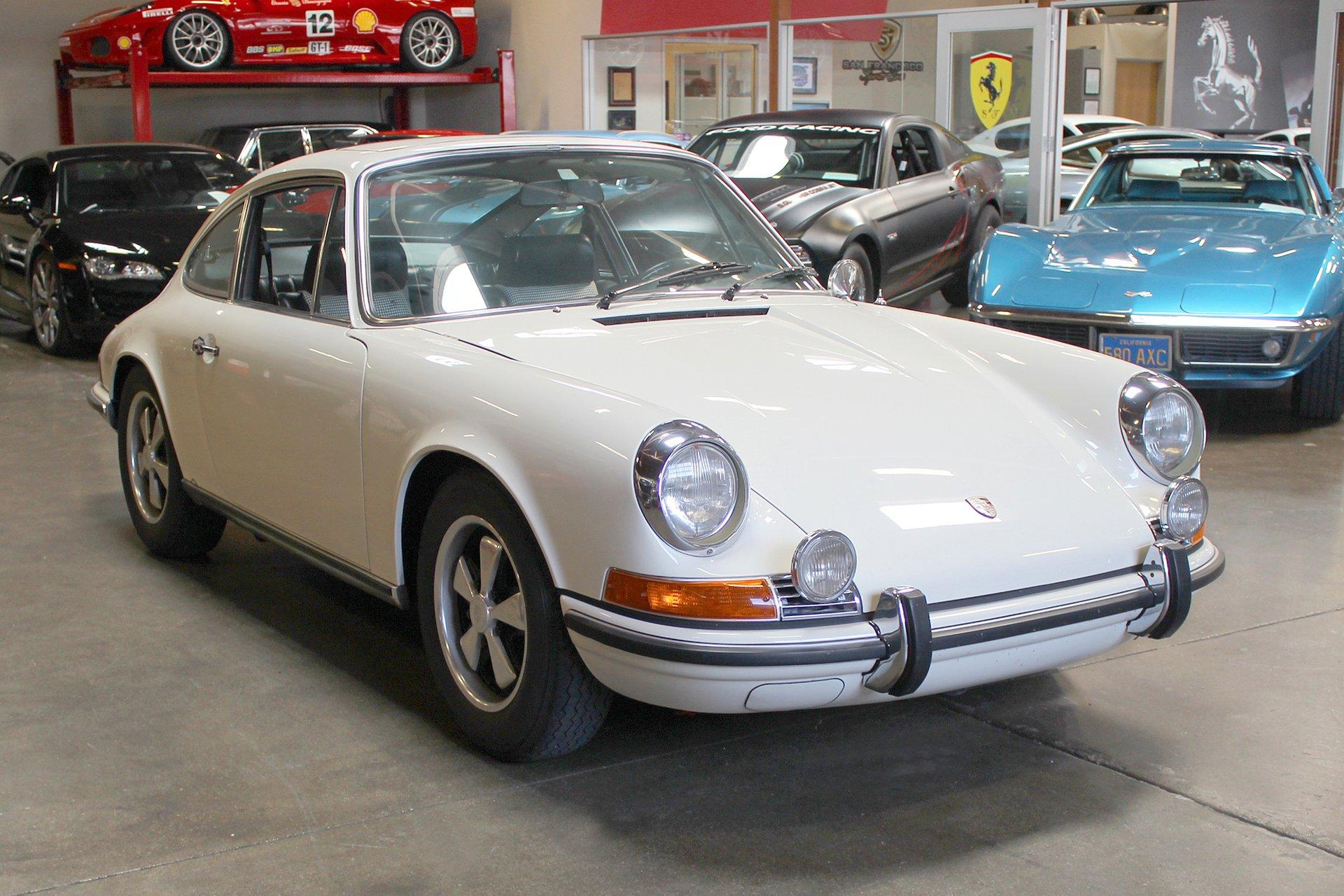 Used 1970 Porsche 911S for sale Sold at San Francisco Sports Cars in San Carlos CA 94070 1