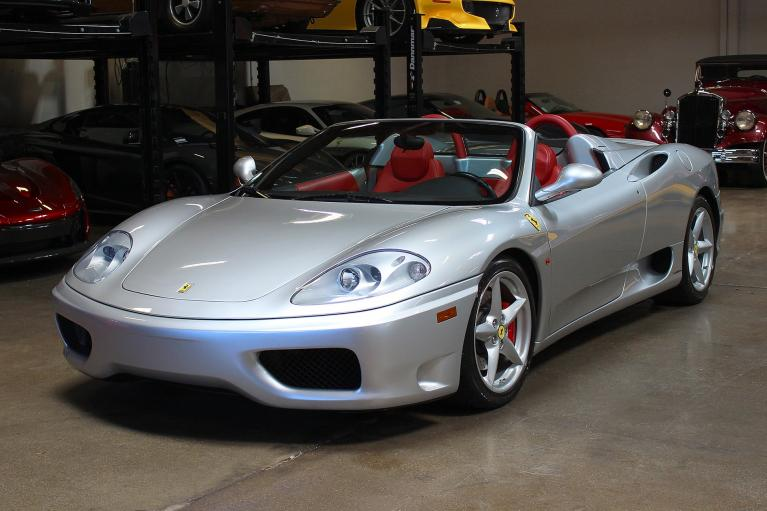 Used 2004 Ferrari 360 Spider for sale Sold at San Francisco Sports Cars in San Carlos CA 94070 3