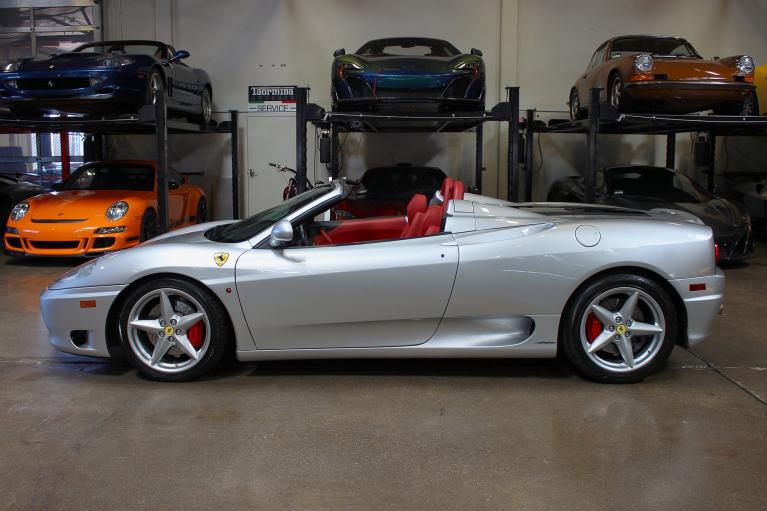 Used 2004 Ferrari 360 Spider for sale Sold at San Francisco Sports Cars in San Carlos CA 94070 4