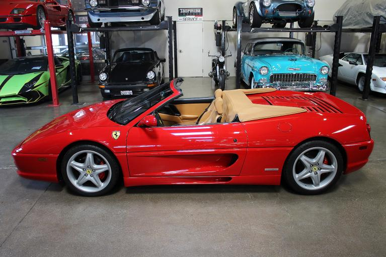 Used 1999 Ferrari 355 Serie Fiorano #1/100 for sale Sold at San Francisco Sports Cars in San Carlos CA 94070 4