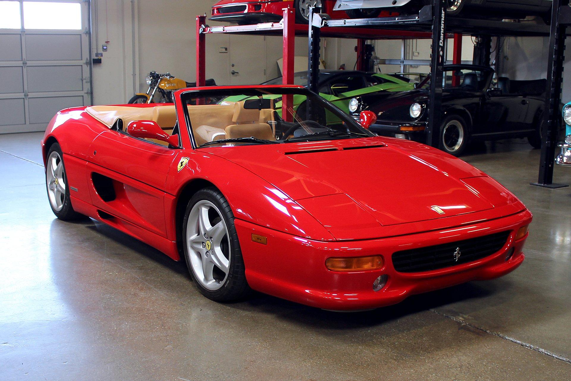 Used 1999 Ferrari 355 Serie Fiorano #1/100 for sale Sold at San Francisco Sports Cars in San Carlos CA 94070 1