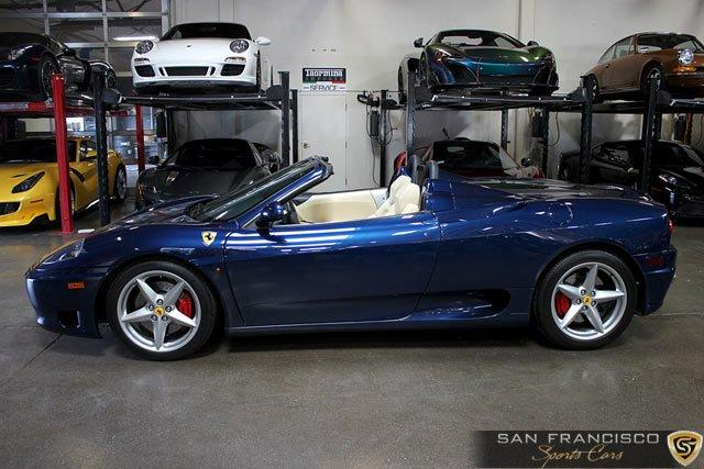 Used 2002 Ferrari 360 Spider for sale Sold at San Francisco Sports Cars in San Carlos CA 94070 3