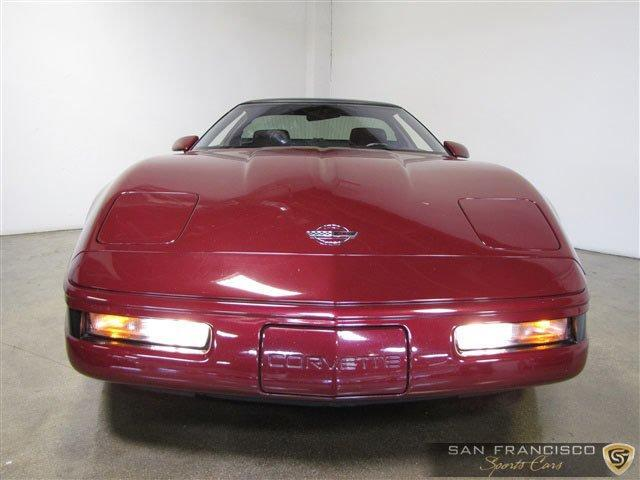 Used 1993 Chevrolet Corvette ZR1 for sale Sold at San Francisco Sports Cars in San Carlos CA 94070 1