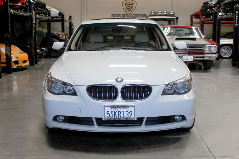 Used 2006 BMW 5 Series for sale Sold at San Francisco Sports Cars in San Carlos CA 94070 2