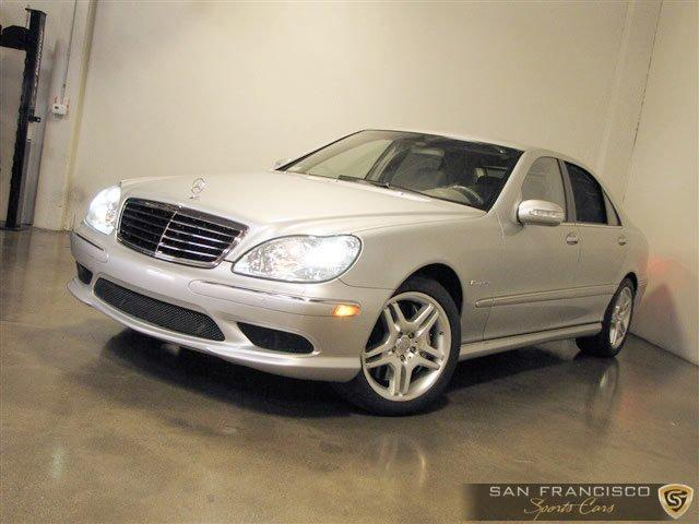 Used 2004 Mercedes-Benz Benz S55 AMG for sale Sold at San Francisco Sports Cars in San Carlos CA 94070 2