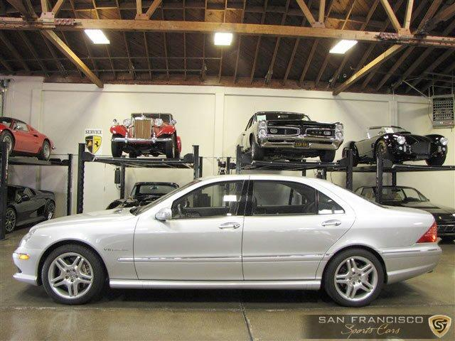 Used 2004 Mercedes-Benz Benz S55 AMG for sale Sold at San Francisco Sports Cars in San Carlos CA 94070 3