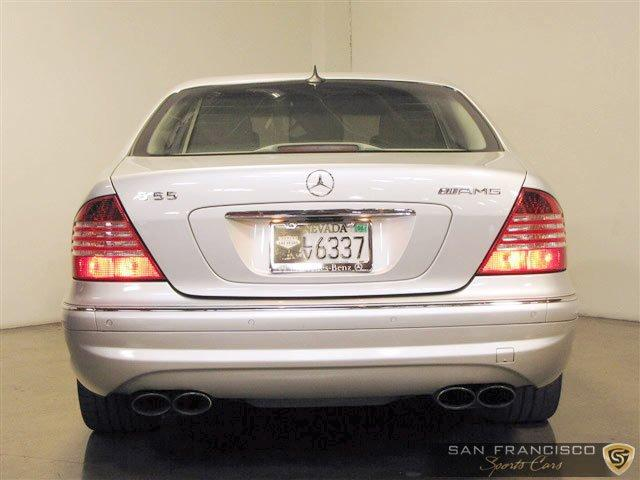 Used 2004 Mercedes-Benz Benz S55 AMG for sale Sold at San Francisco Sports Cars in San Carlos CA 94070 4