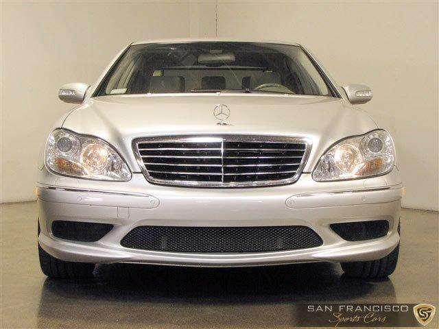 Used 2004 Mercedes-Benz Benz S55 AMG for sale Sold at San Francisco Sports Cars in San Carlos CA 94070 1